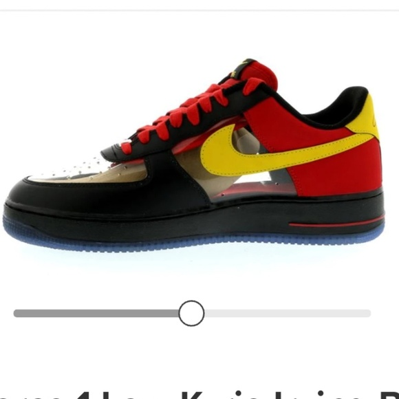 best service 13db9 e5a69 Air Force 1 Low Kyrie Irving Black Red.